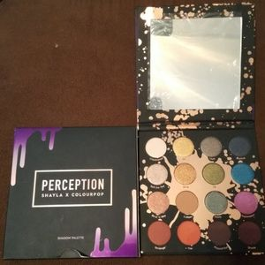 Perception Shayla X Colourpop Palette